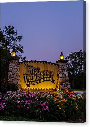 Fort Wilderness Resort And Campground Canvas Print