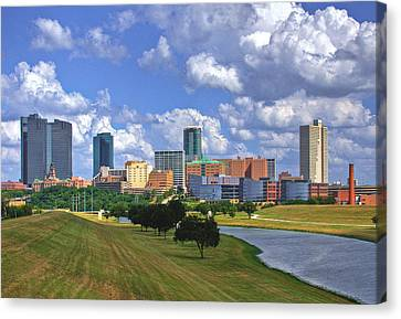 Fort Worth #1 Canvas Print by David and Carol Kelly