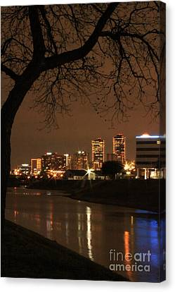 Fort Worth Skyline Canvas Print