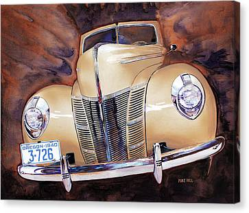 Forty Ford Canvas Print by Mike Hill