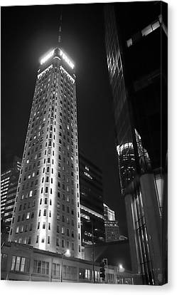 Foshay Tower, Minneapolis Canvas Print by Jim Hughes