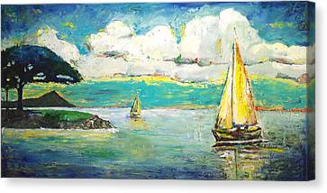 Foster's Point Canvas Print