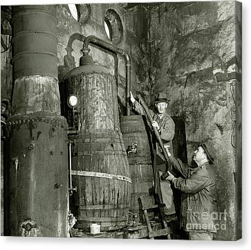 1933 Canvas Print - Dismantling The Still by Jon Neidert