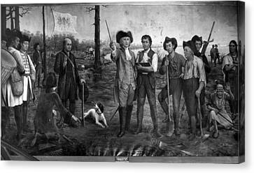 Founding Of New Orleans Canvas Print
