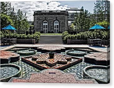 Symbolically Canvas Print - Fountain Garden National Arboretum by Tom Gari Gallery-Three-Photography