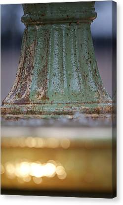 Depth Of Field Canvas Print - Fountain II  by Dustin K Ryan