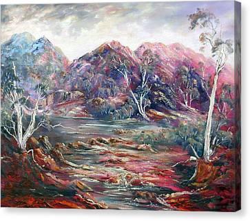 Fountain Springs Outback Australia Canvas Print