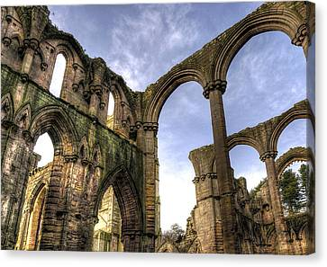 Fountains Abbey 5 Canvas Print by Svetlana Sewell