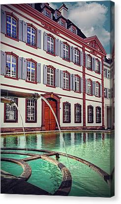 Fountains Of Basel Switzerland Canvas Print by Carol Japp