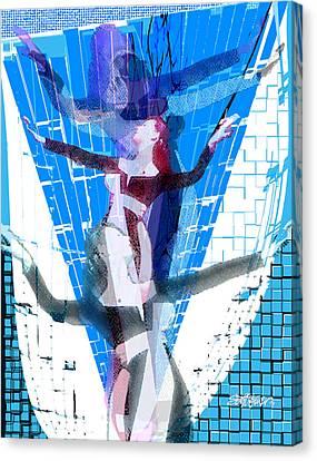 Canvas Print - Four Blue Angels by Seth Weaver