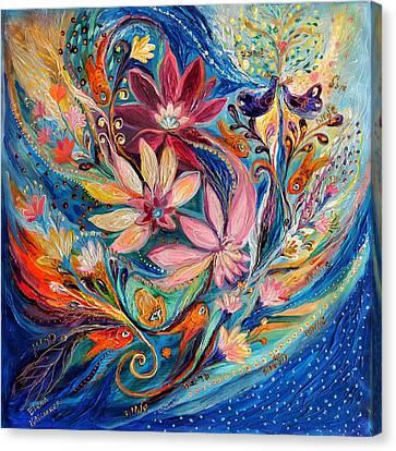Four Elements IIi. Water Canvas Print by Elena Kotliarker