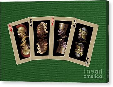 Four Kings Canvas Print by Arturas Slapsys