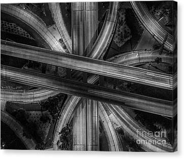 Four Level Interchange Canvas Print