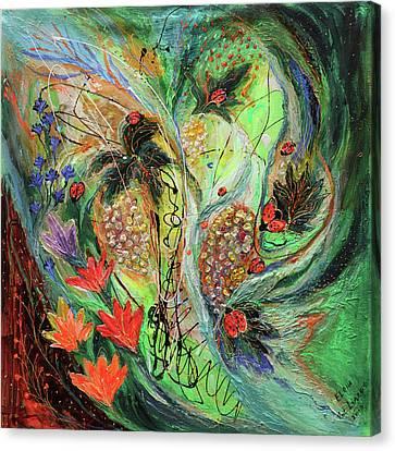 Four Seasons Of Vine Summer Canvas Print