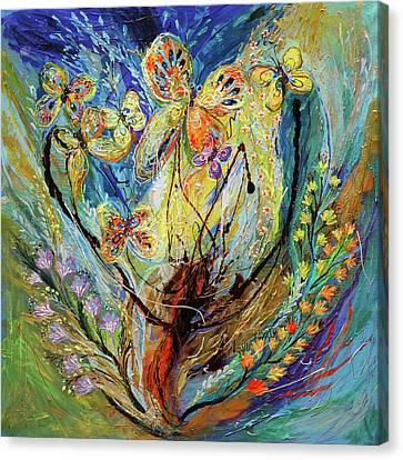 Four Seasons Of Vine Winter Canvas Print