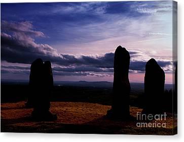 Four Stones Clent Hills Canvas Print