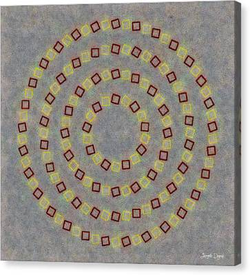 Fourcircles - Pa Canvas Print by Leonardo Digenio