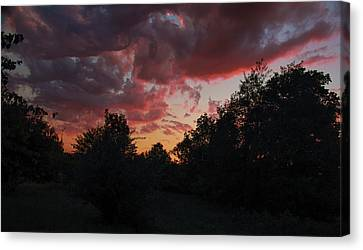Fowlerville Sunset II Canvas Print