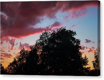 Fowlerville Sunset Canvas Print