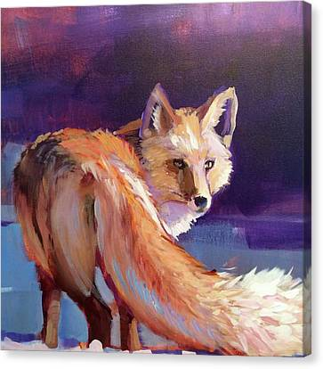 Fox 1 Canvas Print