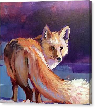 Fox 1 Canvas Print