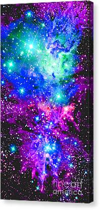 Nebula Canvas Print - Fox Nebula by Johari Smith