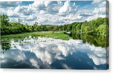 Fox River Canvas Print by Randy Scherkenbach