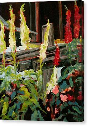 Foxgloves Canvas Print by Carla Stein