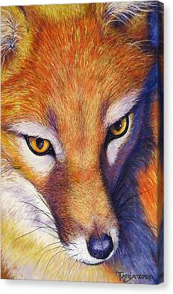 Canvas Print - Foxy by Tanja Ware