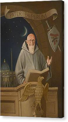 Fr. Benedict Canvas Print