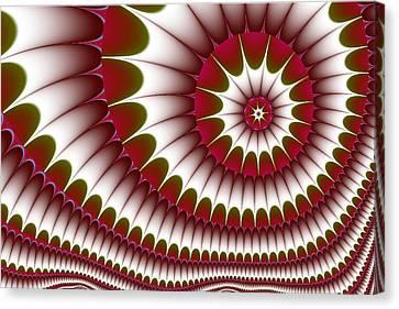 Fractal 634 Canvas Print by Charmaine Zoe