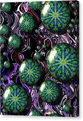 Fractal Abstract 7816.5 Canvas Print