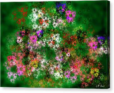 Fractal Garden Canvas Print by Michael Durst