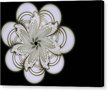 Fractal In Motion Alt Canvas Print by Alex Porter