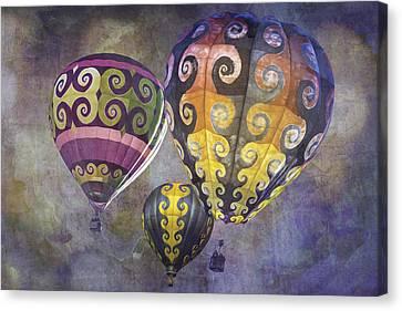 Fractal Trio Canvas Print