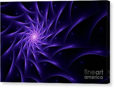 Fractal Web Canvas Print