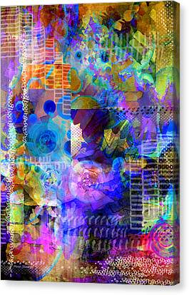 Fraction Canvas Print by Moon Stumpp
