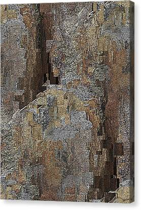 Fracture Frenzy Canvas Print by Tim Allen