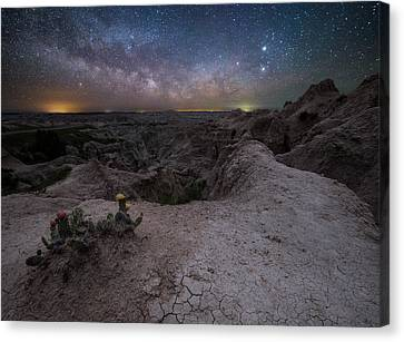 Canvas Print featuring the photograph Fractured  by Aaron J Groen