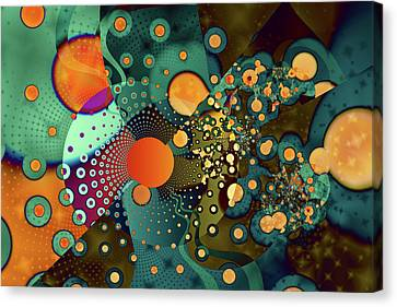 Fragmentation Canvas Print by Frederic Durville