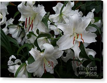 Fragrant Beauties Canvas Print