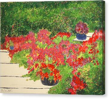 Fragrant Garden Canvas Print