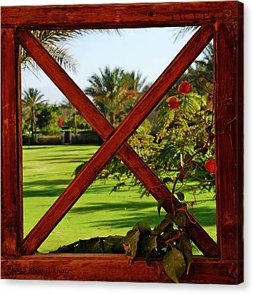 Frame I Canvas Print by Chaza Abou El Khair