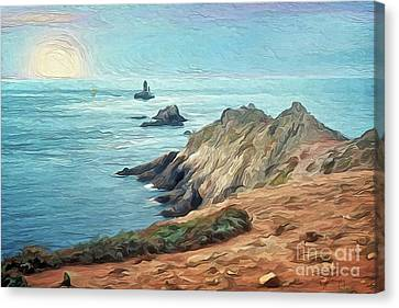 France - La Pointe Du Raz Canvas Print