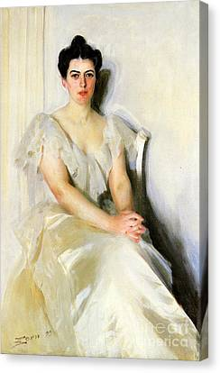 Frances Cleveland, First Lady Canvas Print by Science Source