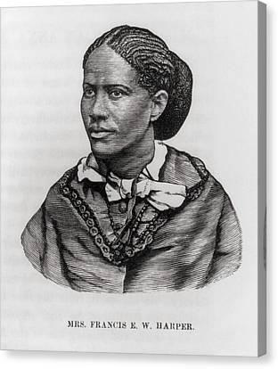Frances Ellen Watkins Harper 1825-1911 Canvas Print