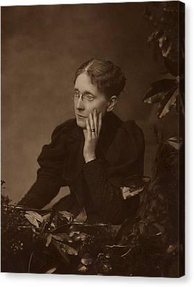 Frances Willard 1839-1898, American Canvas Print by Everett