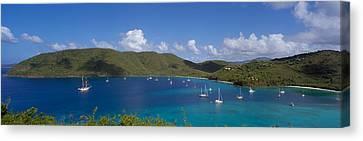 Francis And Maho Bays Virgin Islands Canvas Print