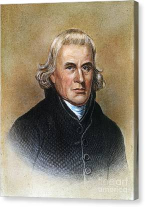Francis Asbury (1745-1816) Canvas Print by Granger