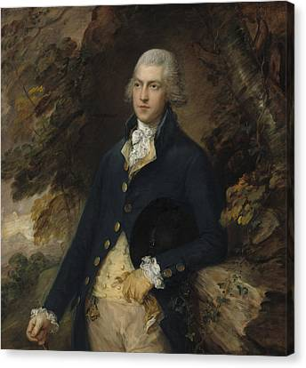 Francis Bassett Lord De Dunstanville And Bassett Canvas Print